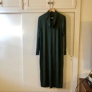 Lucky Brand Jersey Long Sleeve Maxi Dress Sz S